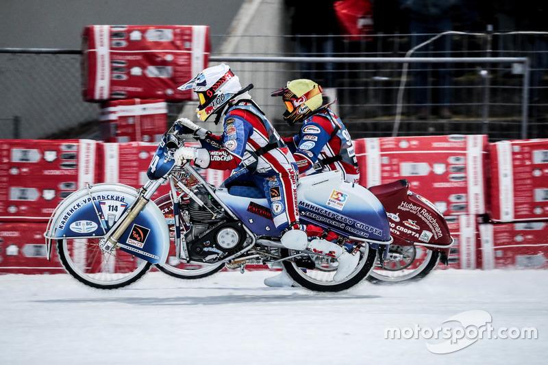 Валеев решил проблемы с техникой и моментально превратился в одного из лидеров: после «нуля» в первом заезде Динар больше не проваливался и в итоге добрался до финального заезда
