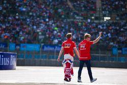Nick Heidfeld, Mahindra Racing e Felix Rosenqvist, Mahindra Racing