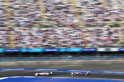 Nick Heidfeld, Mahindra Racing. Alex Lynn, DS Virgin Racing