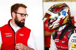 Daniel Abt, Audi Sport ABT Schaeffler en el garaje