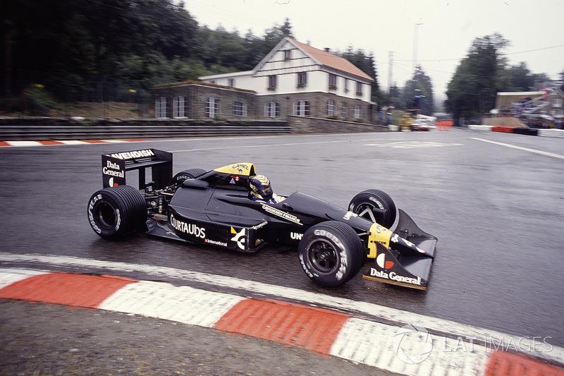 Джулиан Бейли, Tyrrell 017 Ford