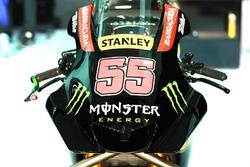 Le carénage de la moto de Hafizh Syahrin, Monster Yamaha Tech 3