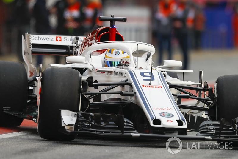 2018: Sauber wordt Alfa Romeo Sauber