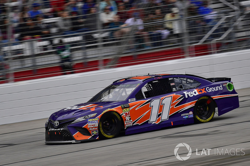 Denny Hamlin, Joe Gibbs Racing, FedEx Ground Toyota Camry