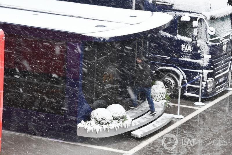 Los camiones de la FIA