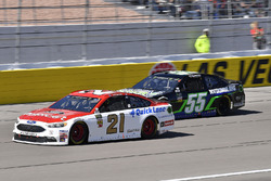 Paul Menard, Wood Brothers Racing, Ford Fusion Motorcraft / Quick Lane Tire & Auto Center, Joey Gase