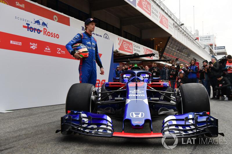 Brendon Hartley, Scuderia Toro Rosso y el Scuderia Toro Rosso STR13