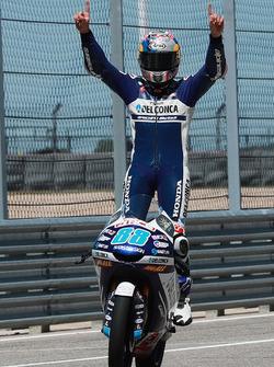 Ganador, Jorge Martin, Del Conca Gresini Racing Moto3