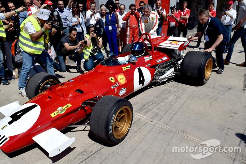 Жаки Икс, Ferrari 312 B