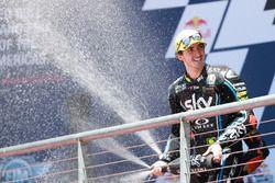 Podium: Race winner Francesco Bagnaia, Sky Racing Team VR46