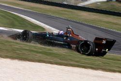 Zach Veach, Andretti Autosport Honda spins