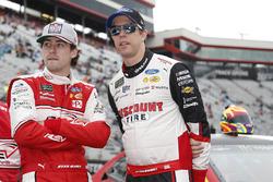 Brad Keselowski, Team Penske, Ford Fusion Discount Tire Ryan Blaney, Team Penske, Ford Fusion REV