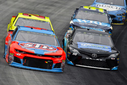 Darrell Wallace Jr., Richard Petty Motorsports, Chevrolet STP e Chad Finchum, Motorsports Business Management, Toyota Camry, Concrete North / Smithbuilt Homes