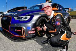 #77 Compass Racing, Audi RS3 LMS TCR, TCR: Britt Casey Jr, Tom Long Motul Pole Award