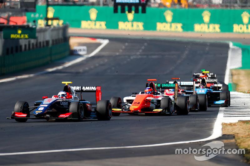 Giuliano Alesi était en difficulté en début de course mais est remonté au huitième rang