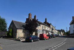 Silverstone Village and White Horse pub