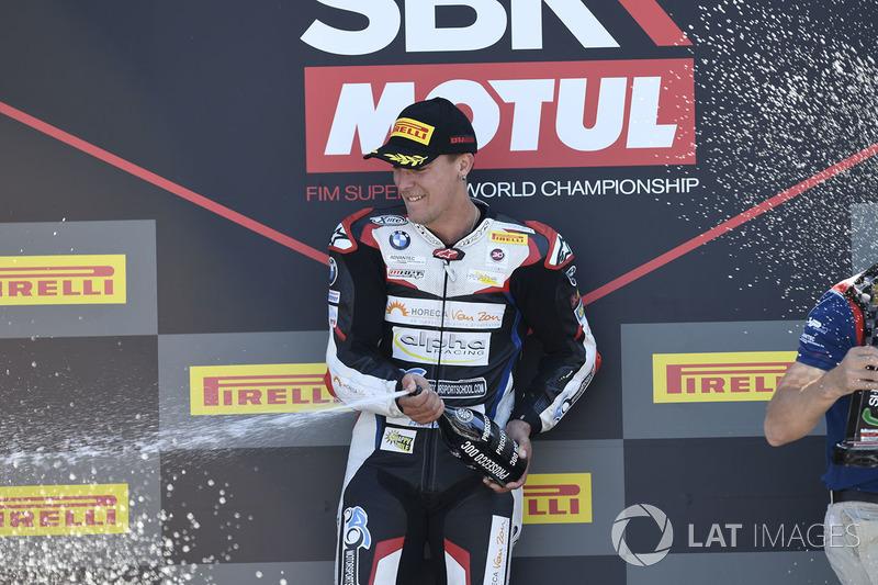 Il vincitore della gara Markus Reiterberger
