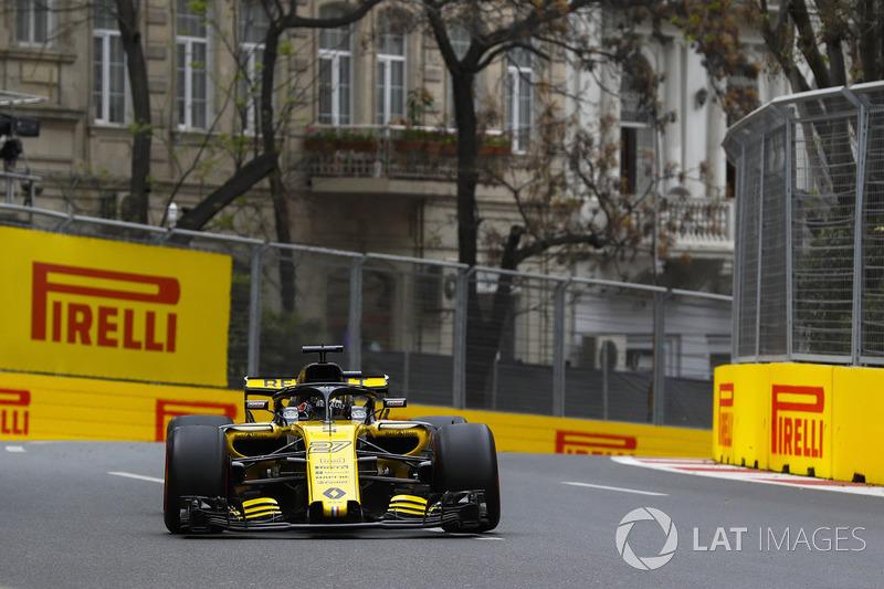 14. Nico Hülkenberg, Renault Sport F1 Team R.S. 18*