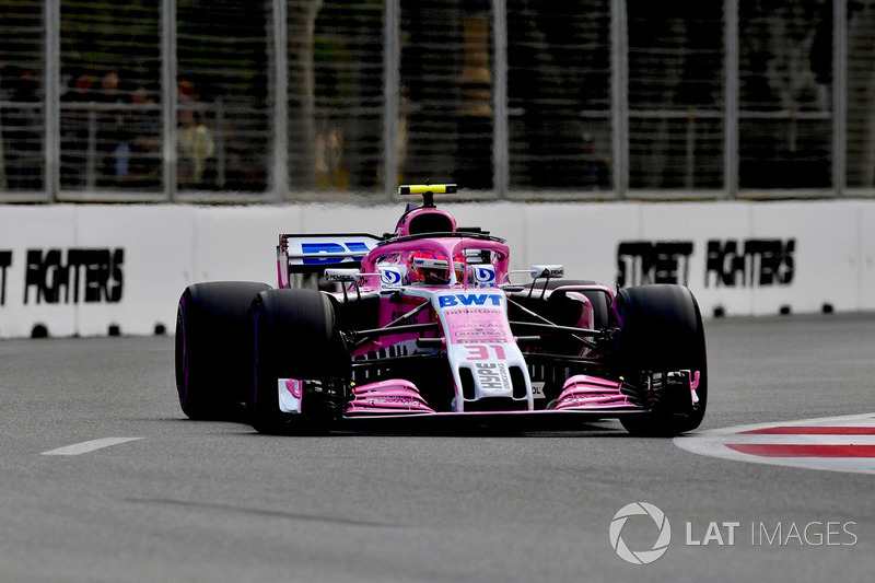 Ausfall: Esteban Ocon, Force India VJM11