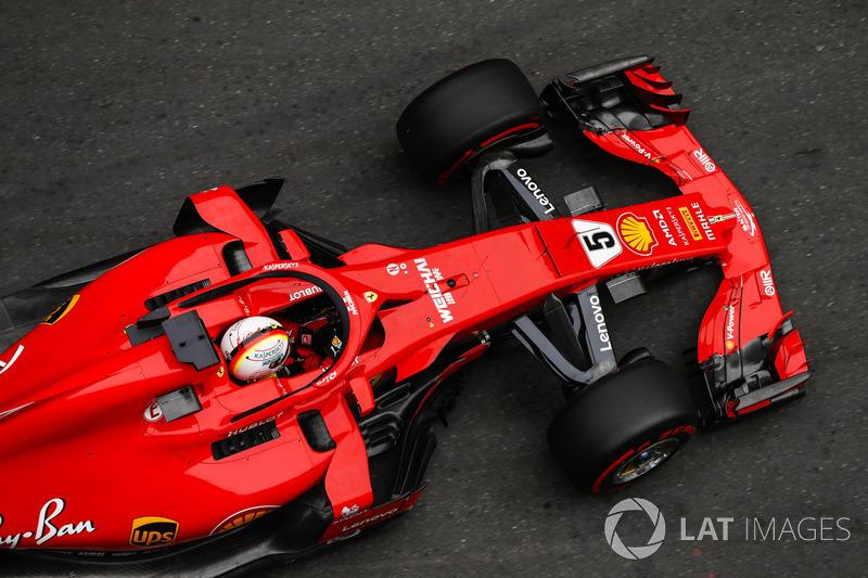 Azerbaïdjan - Sebastian Vettel