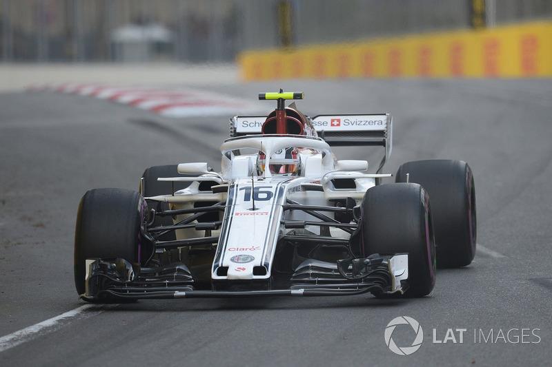 6. Charles Leclerc, Sauber C37