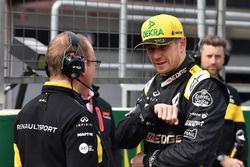 Nico Hulkenberg, Renault Sport F1 Team, sur la grille
