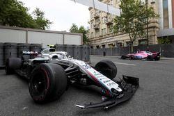 El coche de Sergey Sirotkin, Williams FW41