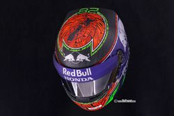 Helmet of Brendon Hartley, Toro Rosso for Monaco GP