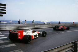 Alain Prost, McLaren MP4/4, Gerhard Berger, Ferrari