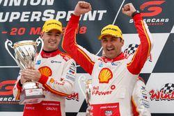 Podyum: Yarış galibi Fabian Coulthard, DJR Team Penske Ford, 3. Scott McLaughlin, DJR Team Penske Ford