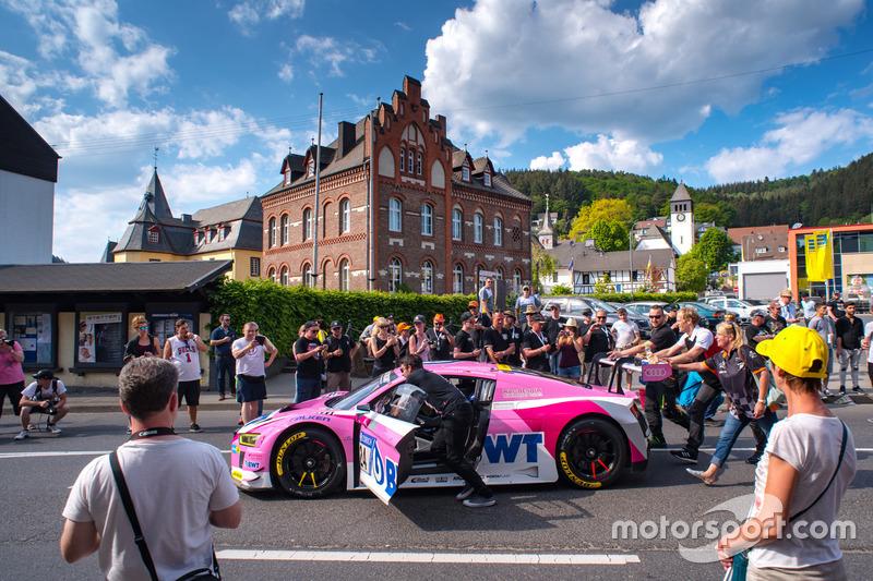 Маркус Винкельхок, Майк Роккенфеллер, Кристофер Хаасе, Нико Мюллер, Audi Sport Team BWT Mücke Motorsport, Audi R8 LMS GT3 (№24)