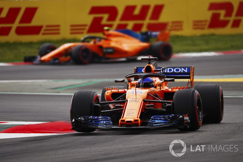 Fernando Alonso, McLaren MCL33, Stoffel Vandoorne, McLaren