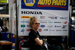 Alexander Rossi, Andretti Autosport Honda, mysterious woman