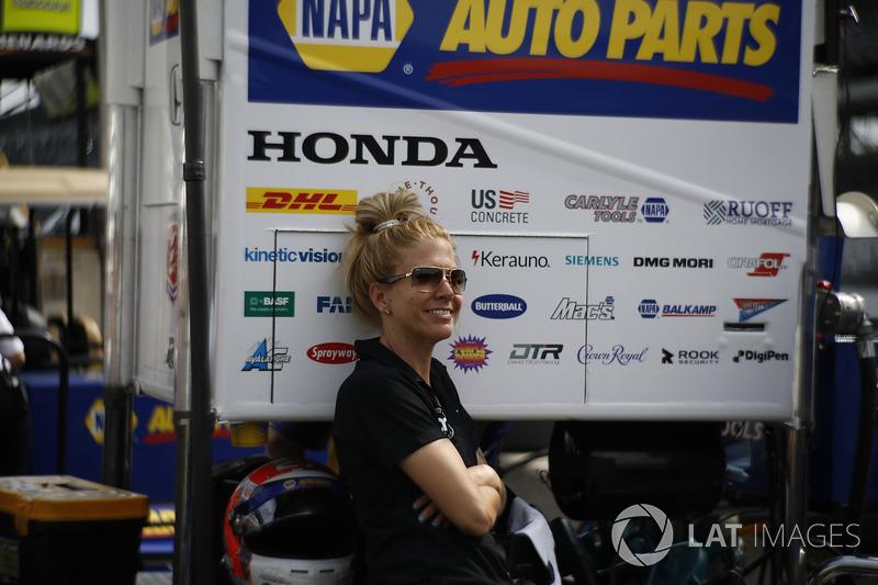 Alexander Rossi, Andretti Autosport Honda, mujer misteriosa