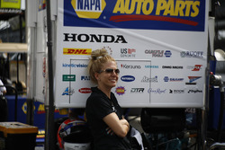 Alexander Rossi, Andretti Autosport Honda, mysterious woman