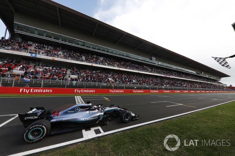 GP Spanyol: Lewis Hamilton