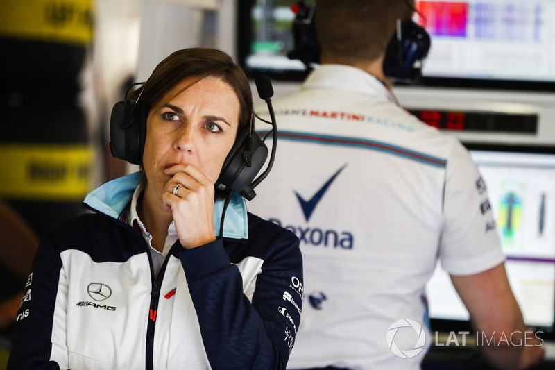 Claire Williams, directrice de Williams Martini Racing