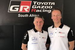Michel Perin en Bernhard ten Brinke, Toyota Gazoo Racing South Africa