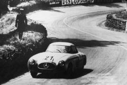 Mercedes 300 SL, Hermann Lang, Fritz Riess