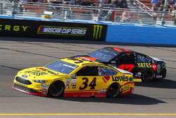 Landon Cassill, Front Row Motorsports Ford y Ricky Stenhouse Jr., Roush Fenway Racing Ford
