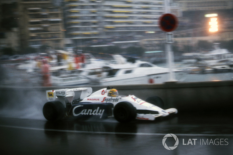 Ayrton Senna, Toleman TG184, Monaco GP