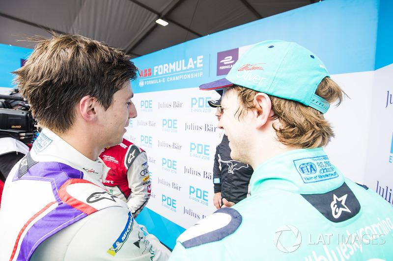 Alex Lynn, DS Virgin Racing, Oliver Turvey, NIO Formula E Team