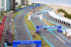 Jean-Eric Vergne, Techeetah, Lucas di Grassi, Audi Sport ABT Schaeffler, Sam Bird, DS Virgin Racing