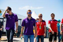 Alex Lynn, DS Virgin Racing, Sam Bird, DS Virgin Racing, Felix Rosenqvist, Mahindra Racing, Nick Heidfeld, Mahindra Racing