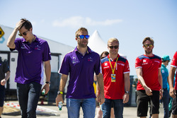 Alex Lynn, DS Virgin Racing, Sam Bird, DS Virgin Racing, Felix Rosenqvist, Mahindra Racing, Nick Hei