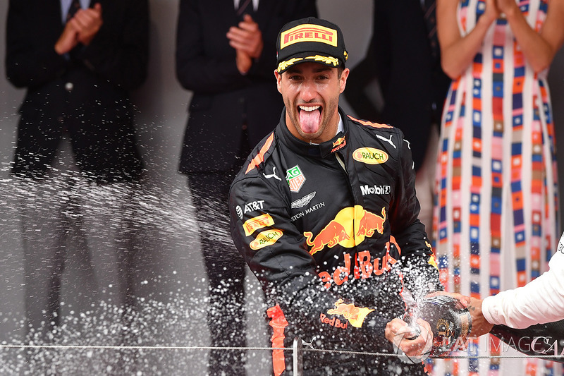 Monte Carlo (Monaco): Daniel Ricciardo, Red Bull Racing