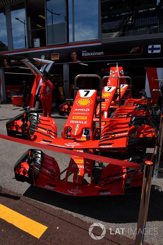 Ferrari SF71H, musetti
