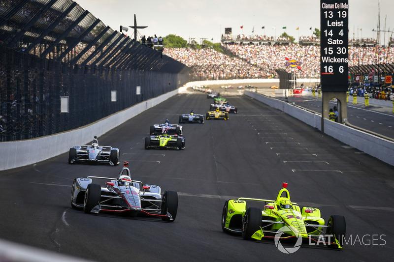 Will Power, Team Penske Chevrolet, Simon Pagenaud, Team Penske Chevrolet