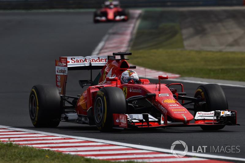 2015: Себастьян Феттель, Ferrari SF15-T