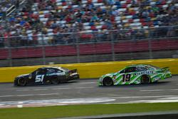 B.J. McLeod, Rick Ware Racing, Chevrolet Camaro Prefund Capital, Kyle Busch, Joe Gibbs Racing, Toyota Camry M&M's Red White & Blue